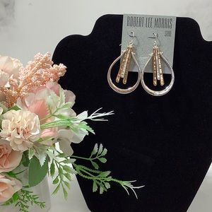 NWT Robert Lee Morris Soho Earrings